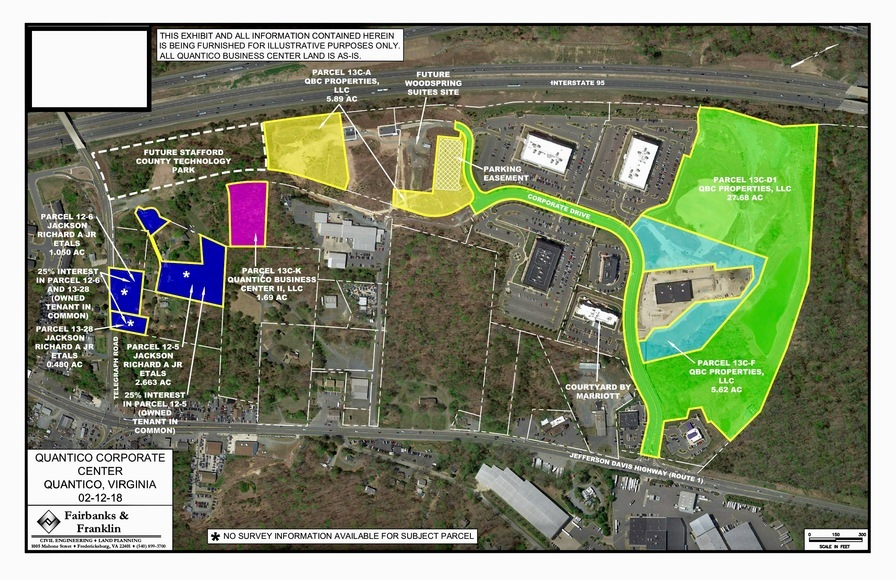 Four Major Commercial Parcels in Quantico Corporate Center Set for Auction